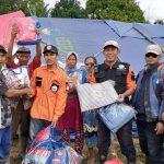 HASMI Bogor-Tanggap Bencana Berikan Bantuan Banjir & Longsor