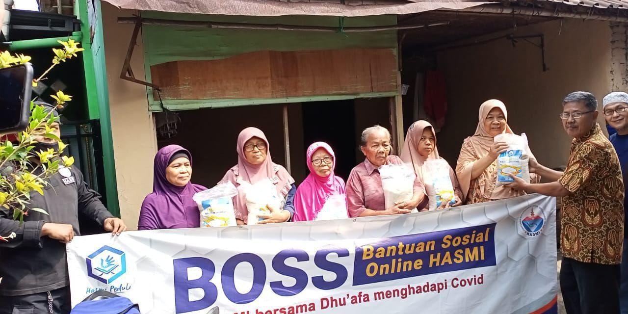 BOSS (Bantuan Online Sosial HASMI) – HASMI bersama Dhuafa menghadapi COVID-19